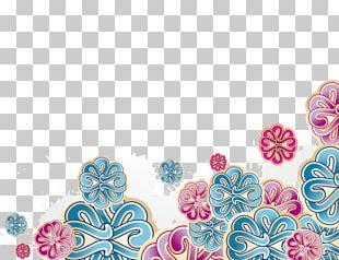 Flower Euclidean Pattern PNG