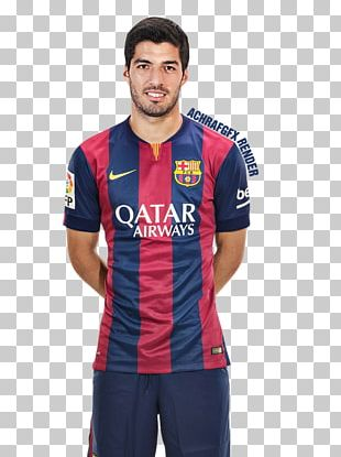 Luis Suárez 2015–16 FC Barcelona Season La Liga Jersey PNG