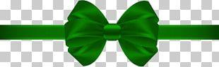 Bow Tie Green Necktie PNG