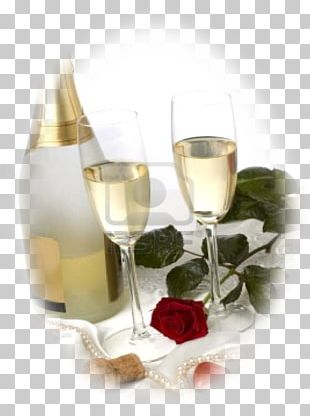 Champagne Glass Wine Glass Birthday Cake PNG
