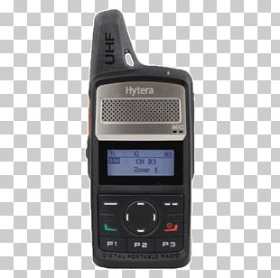 Digital Mobile Radio Two-way Radio Hytera PNG