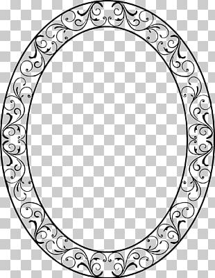 Frames Oval Decorative Arts PNG
