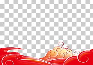 Wind Wave Poster Pattern PNG