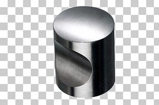 Top Knobs SS22 Cabinet Knob By Top Knobs Stainless Steel Cylinder Angle PNG