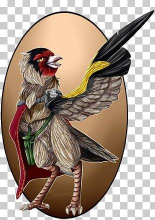 Cartoon Beak Character Chicken As Food PNG