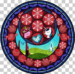 Pony Stained Glass Rainbow Dash PNG