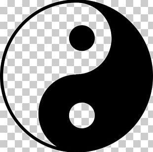 Yin And Yang Taoism Symbol Taijitu Definition PNG