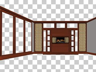 Window Fireplace Living Room PNG