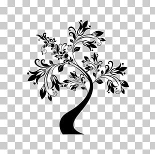 Floral Ornament Tree Flower PNG