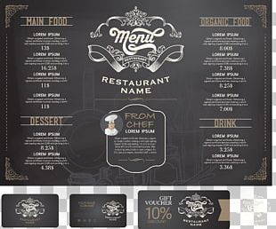 Thai Cuisine Menu Cafe Restaurant PNG