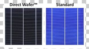 Solar Panels Solar Power Wafer Solar Cell Smart Module PNG