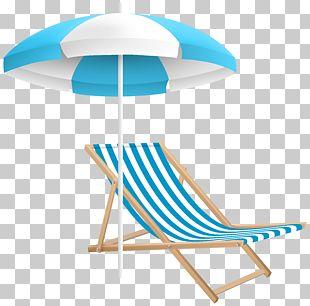 Chair Umbrella Beach Table Strandkorb PNG