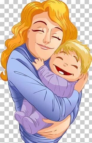 Child Mother Infant Hug PNG