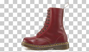 Wollaston Dr. Martens Boot Shoe Oxblood PNG