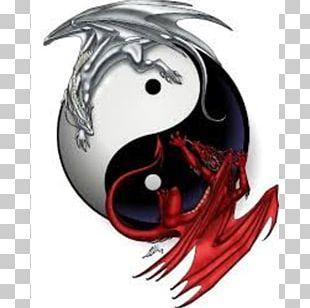 Yin And Yang Tattoo Chinese Dragon Flash PNG