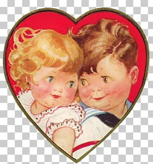Valentine's Day Love February 14 Child Scrapbooking PNG