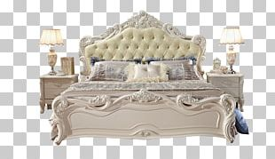 Bed Frame Bedding Bedroom PNG