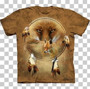 Dreamcatcher T-shirt Native Americans In The United States Gray Wolf Indigenous Peoples Of The Americas PNG