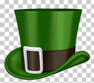 Ireland Saint Patrick's Day Hat PNG