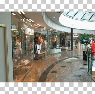 Shopping Centre Digital Business Partition Wall PNG