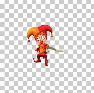 Cartoon Clown Dress-up PNG