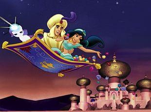 The Jungle Book Princess Jasmine Aladdin Jafar Genie PNG