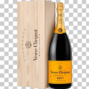 Champagne Veuve Clicquot Yellow Label Brut Moët & Chandon Wine Champagne Veuve Clicquot Yellow Label Brut PNG