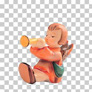 Hummel Figurines Trumpet Trombone Character PNG