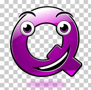 Smiley Emoticon Alphabet Letter PNG