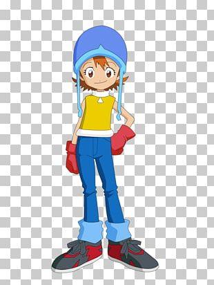 Sora Takenouchi Biyomon Kari Kamiya Gatomon Joe Kido PNG