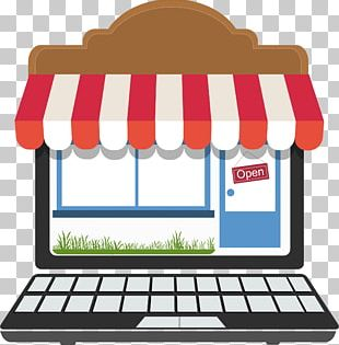 Storefront Online Shopping PNG