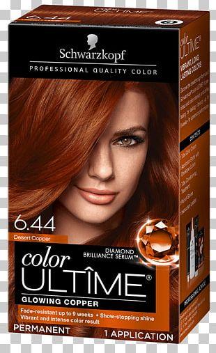 Hair Coloring Schwarzkopf Human Hair Color Mahogany PNG