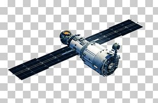 International Space Station Zvezda Spacecraft Satellite PNG