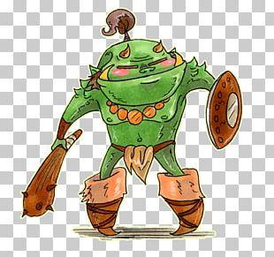 Cartoon Orc Fantasy PNG