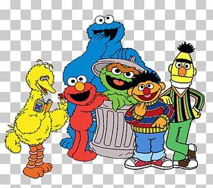 Elmo Enrique Big Bird Count Von Count Cookie Monster PNG