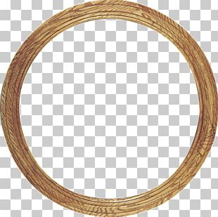 Frames Gold Circle Oval PNG