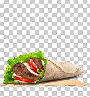 Wrap Hamburger Barbecue Kebab Burger King PNG