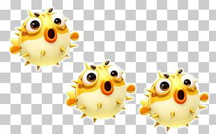 Hand-painted Cartoon Cute Little Fish Material PNG