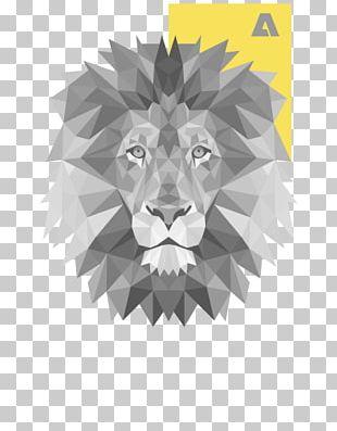 Lionhead Rabbit T-shirt Tiger Polygon PNG