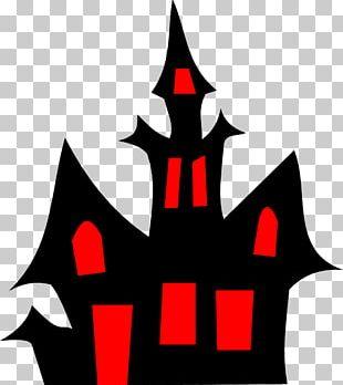 Halloween Cartoon Haunted Attraction PNG