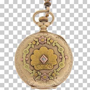 Locket Elgin National Watch Company Pocket Watch PNG