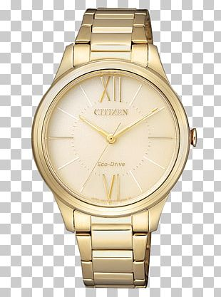 Eco-Drive Citizen Holdings Watch Jewellery Clock PNG