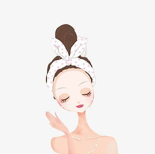 Skin Care Cartoon Png Images Skin Care Cartoon Clipart Free Download
