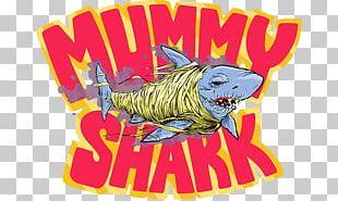 Shark Mummy Fish Monster PNG