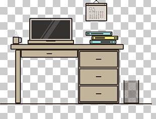 Desk Computer PNG