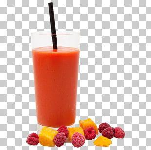 Strawberry Juice Smoothie Orange Drink Health Shake PNG