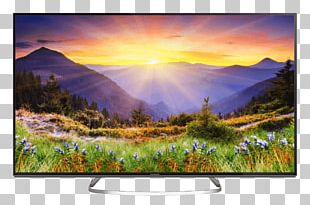 "55"" Panasonic TX-55EX603E Television LED-backlit LCD 4K Resolution Ultra-high-definition Television PNG"
