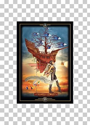 Oracle Of Visions Legacy Of The Divine Tarot Playing Card PNG