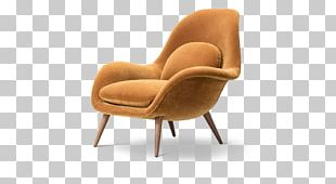 Wing Chair Fredericia Furniture Fauteuil PNG