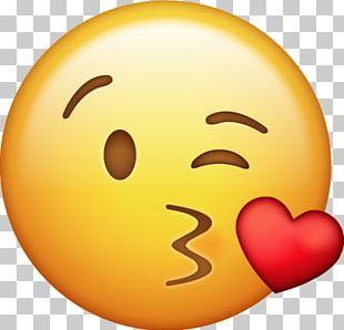 Emoji Kiss Icon 2 PNG